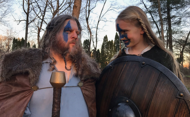 Father Son Viking Photoshoot
